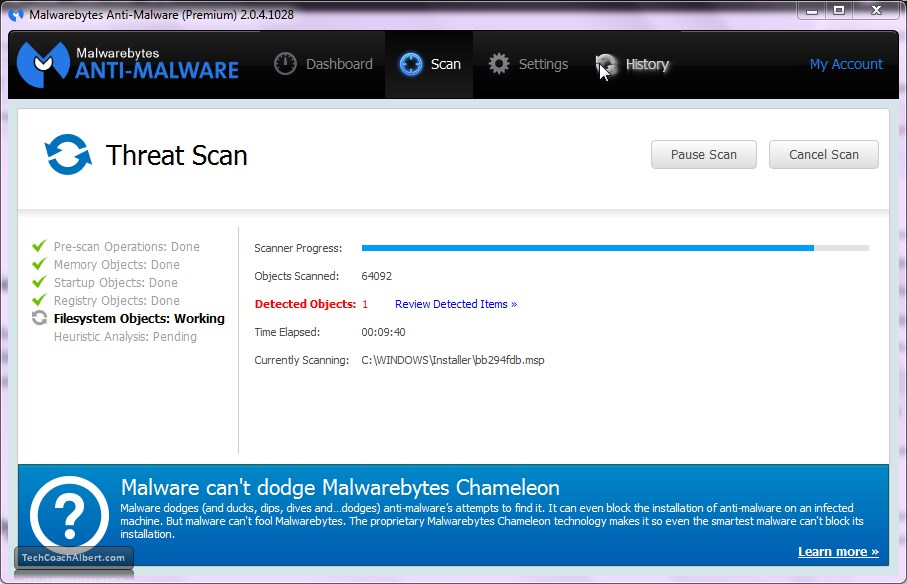 how to get rid of quarantined files malwarebytes