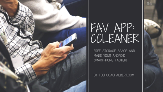 Fav app- CCleaner