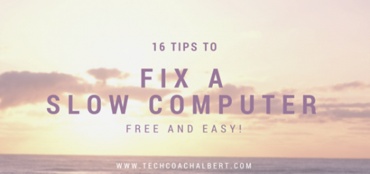 16 Tips to Fix Slow Computer